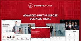 Tema Business Lounge-negócio Multiuso E Tema De Consultoria