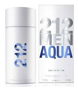 Perfume Carolina Herrera 212 Men Aqua 100ml / 3.4oz