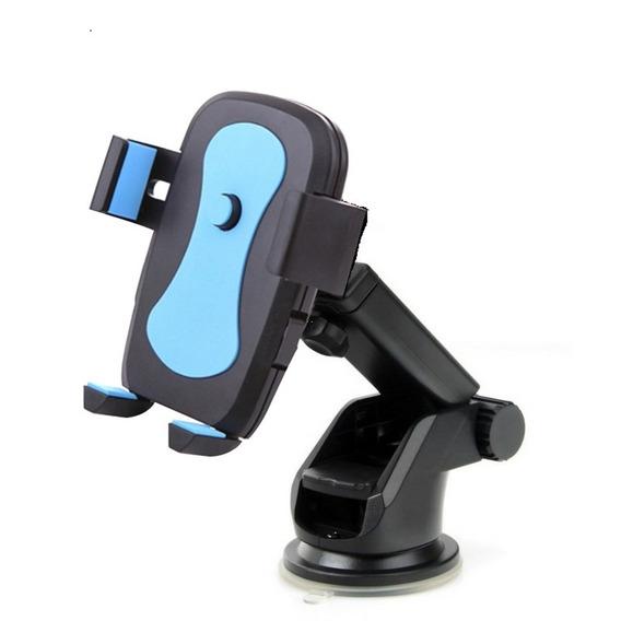 Kit Suporte Celular Gps Com Botao Automatico Veicular