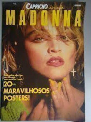 Capricho Apresenta Madonna - 20 Maravilhosos Posters!