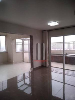 Cobertura Com 3 Dormitórios À Venda, 190 M² Por R$ 1.290.000 - Parque Da Mooca - São Paulo/sp - Co0073