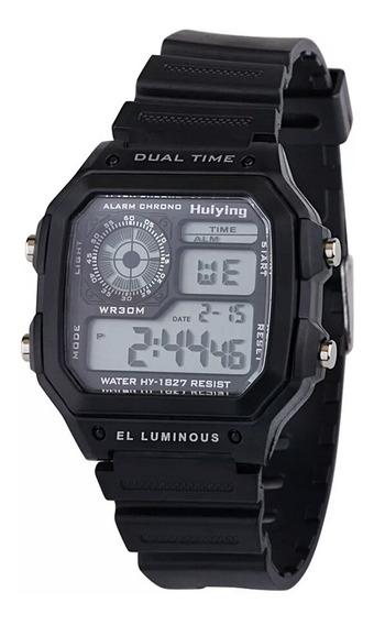 Relógio Esporte Digital Prova Dagua, Luz Led,dig,masculino