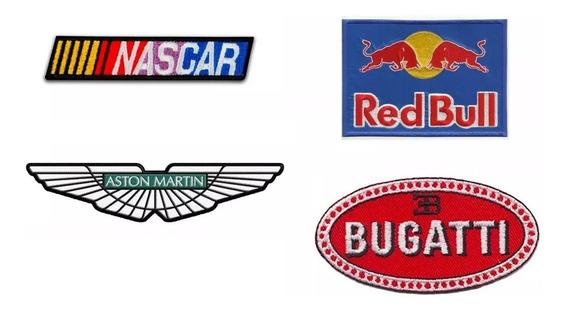4 Parches Bordados Marcas Y Emblemas Autos