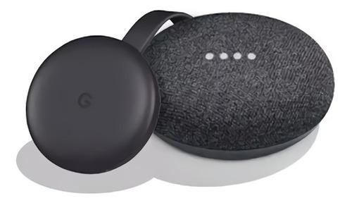 Kit Google Home Mini Y Chromecast 3 Smart Tv Domotica