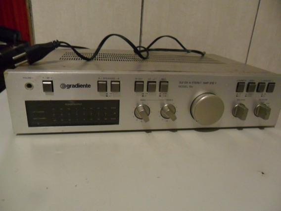Gradiente Model 166 Amplificador Para Conserto.