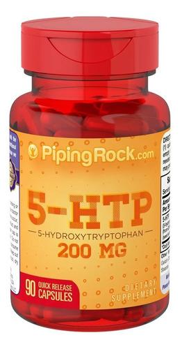 5 Htp 200mg Griffonia 90 Capsula Sist Nervioso Estrés 5-htp