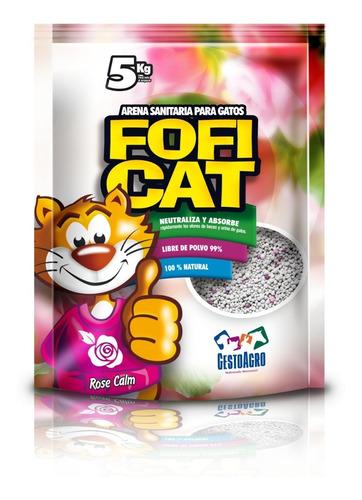 Fofi Cat Lavanda Arena Gatos 5 Kg