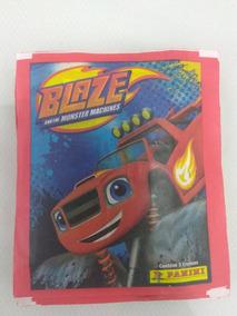 Lote 20 Envelopes De Figurinhas Blaze And The Monster Machin