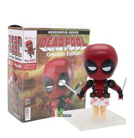 Boneco Deadpool Estilo Nendoroid 662 Orechan Edition