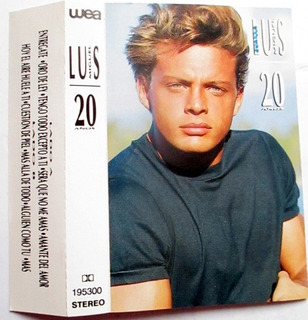 Cassette Luis Miguel 20 Años