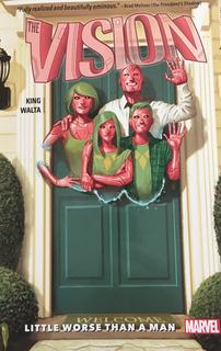 The Vision Vol. 1 - Novela Gráfica Marvel