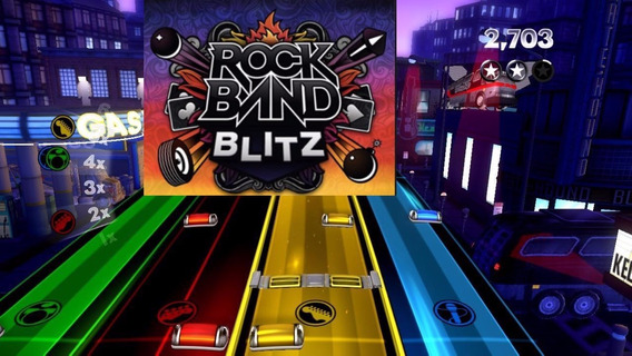 Rock Band Blitz Jogos Ps3 Midia Digital Psn Receba Hoje!
