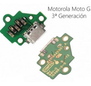 Conector De Carga Moto G3