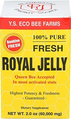 Jalea Real 100% Pura Y Fresca Ys Eco Bee Farms