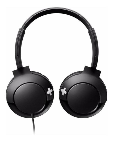 Fone de ouvido Philips BASS+ SHL3075 preto