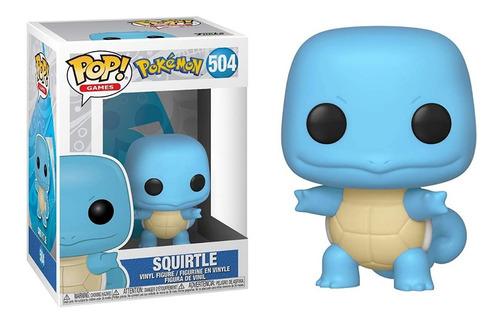 Funko Pop Squirtle #504 Pokemon Regalosleon