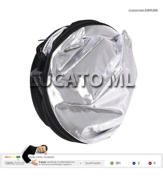 Rebatedor E Difusor Circular De 60cm 5 Em 1 + Bolsa  sj