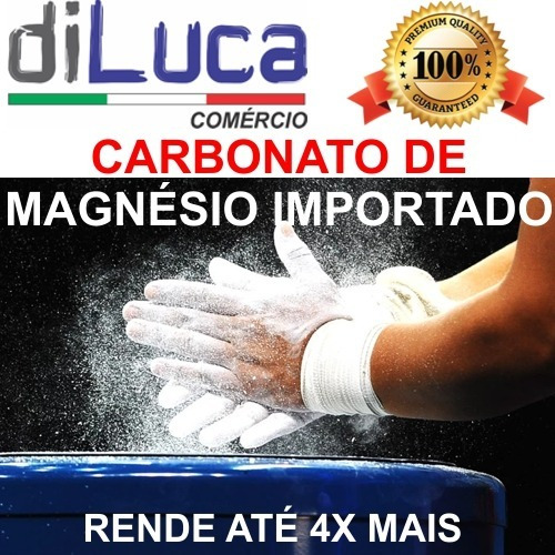 Carbonato Magnésio - Cloreto Magnesio - Cloreto De Cáldio