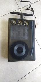 Radio E Vitrola Electra Antiga No Estado Não Sei Se Funciona