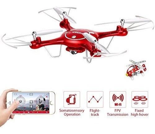 Mais 2-baterias Drone Camera Wifi Tempo Real X5uw Ao Vivo