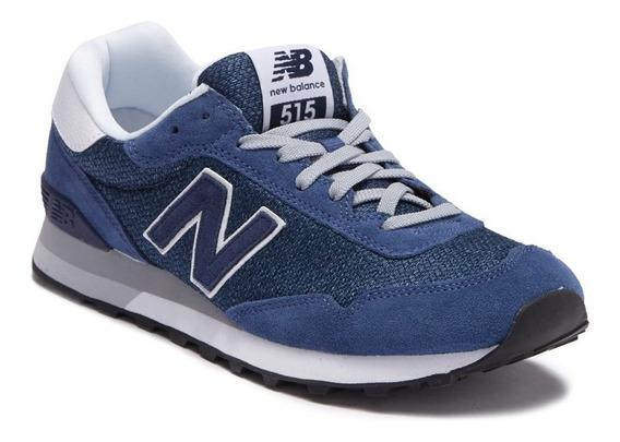 Tênis New Balance Ml515csb Original Masculino Azul Camurça