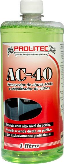 2 L Removedor De Chuva Ácida + Revitalizador Plástico 80gr
