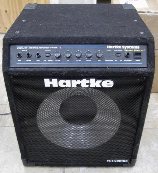 Cubo Amplificador Hartke Ha1400 Contra Baixo 140w Caixa Bass