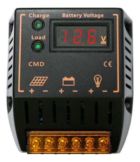 Controlador De Carga Solar Preto