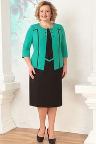 Vestido Com Blazer Plus Size Moda Evengelica Elegante Cod#p