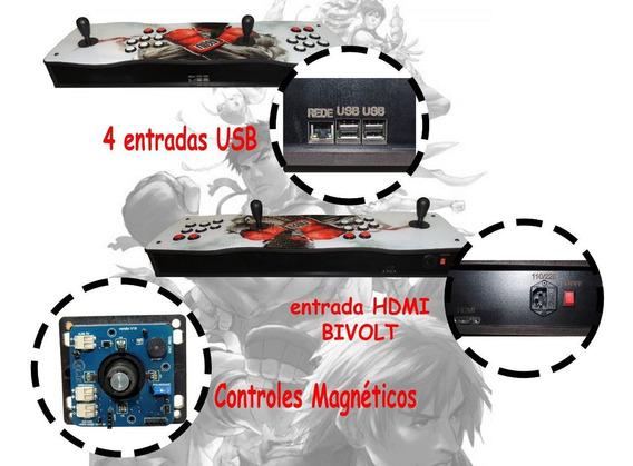 Fliperama Portátil Pró 100% Digital Magnético 20.000 Jogos