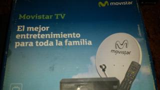 Combo Movistar Tv Sin Linea - Decodificador Antena Todo M2