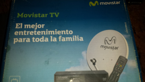 Combo Movistar Tv Sin Linea - Decodificador Antena Todo M2