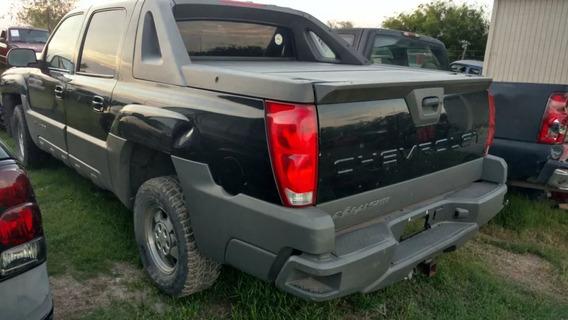 Chevrolet Avalanche 2002 (partes Y Refacciones) 2002 - 2006