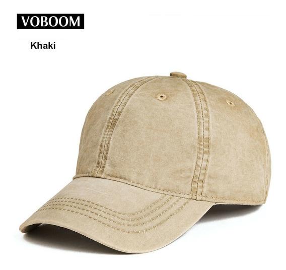 Gorra Béisbol-voboom- Baseball-algodón Lavado