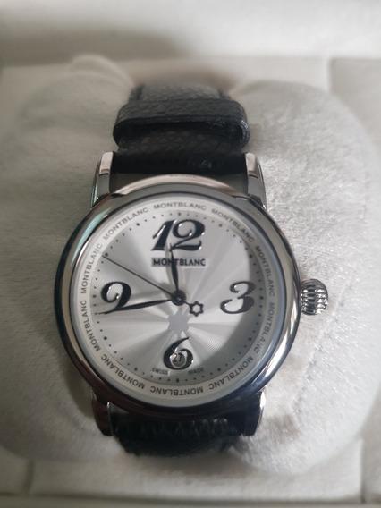 Relógio Mont Blanc, Feminino, Na Caixa, Nunca Foi Usado.