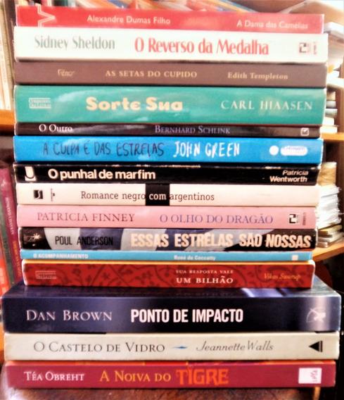 Lote Com 15 Livros Literatura Estrangeira - Sidney Sheldon
