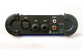 Mini Mixer Leem Mix5 Consola Microfono Linea