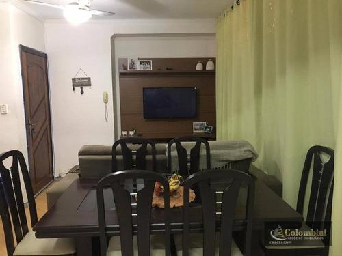 Apartamento Com 2 Dormitórios À Venda, 60 M² - Rudge Ramos - São Bernardo Do Campo/sp - Ap1242