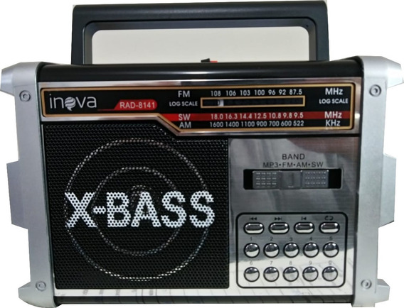 Radio Vintage Modelo Retro Inova Fm/am/pen Drive/usb Top