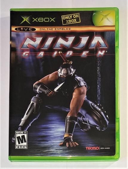 Ninja Gaiden Original Completo Xbox Classico Cr $15