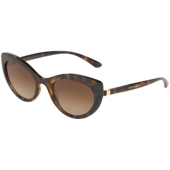 Dolce & Gabbana Dg6124 502/13 53 - Havana/marrom Gradiente