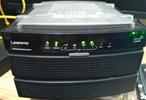 Nas 200 Linksys Cisco + 2 Hd