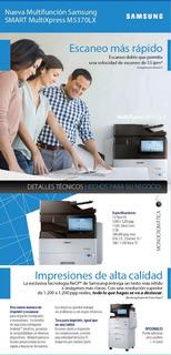 Fotocopiadora Oficio Samsung Sl-m5360rx 2 Bandejas Doble Faz
