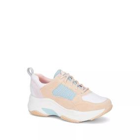 Tenis Chunky Sneakers Mujer Ideal Sport Yoga Caminar 2627984