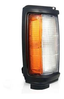 Lanterna Dianteira L200 1992 A 2004 Borda Preta Direito