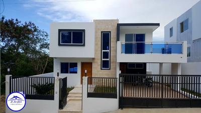Casa Barata Con Piscina En Puerto Plata Jg