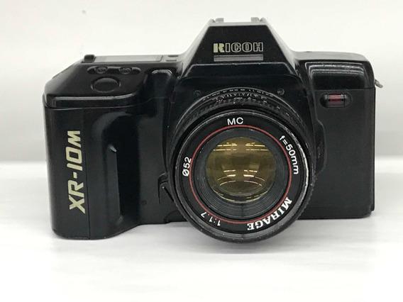 Câmera Ricoh Xr-10m C/lente Mirage 50mm(p/ Coleção).