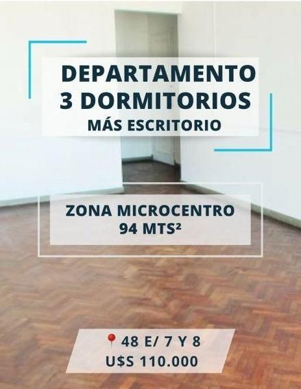 Venta De Departamento 3 Dormitorios En La Plata.