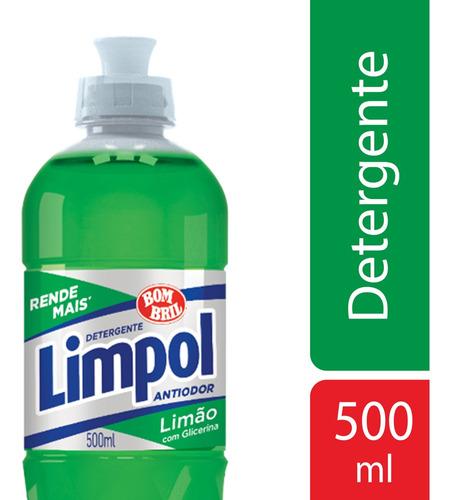Detergente Limpol Limao 500ml