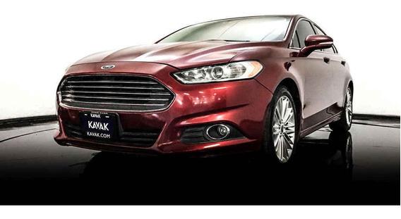 Ford Fusion Se Luxury / Combustible Gasolina 2014 Con Garan